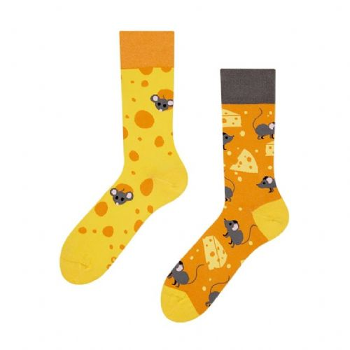 Good Mood | Adult Regular Socks | Cheese